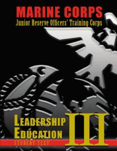 MCJROTC Leadership Education Book Three Cover